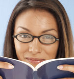 Woman book. Stock Photography