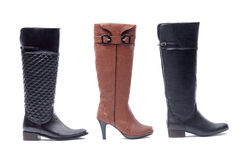 Woman boot Royalty Free Stock Photos