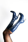Woman boots Royalty Free Stock Photography