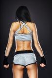 Woman boxer portrait Royalty Free Stock Photo