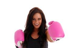 Woman Boxing Royalty Free Stock Photo
