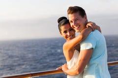 Woman boyfriend cruise stock photo