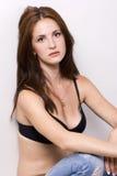 Woman in bra Stock Photos