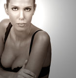 Woman In Bra Royalty Free Stock Photography