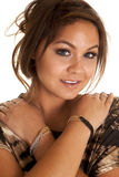 Woman with bracelets wrists Stock Photos