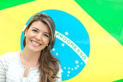 Woman from Brazil Royalty Free Stock Photography