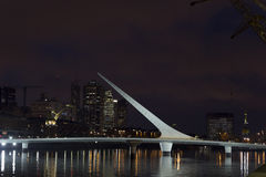 Woman bridge, Buenos Aires Stock Photography