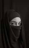 Woman in burka Royalty Free Stock Photo