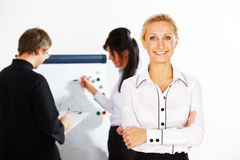 Woman in business Royalty Free Stock Photos