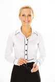 Woman in business Stock Images
