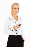 Woman in business Royalty Free Stock Photography