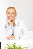 Woman in business Stock Image