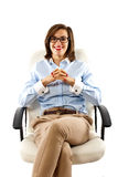 Woman business Stock Photography