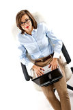 Woman business Stock Image