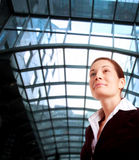 Woman in business Stock Photo