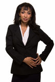 Woman in business attire Stock Image