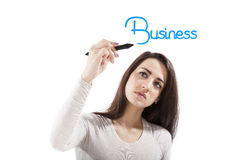 Woman in business. Stock Photos
