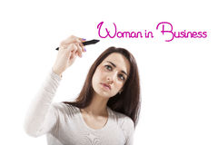 Woman in business. Royalty Free Stock Photo