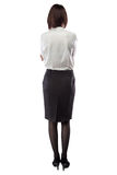 Woman in business clothes, arms crossed Stock Photos