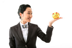 Woman in Business III Stock Images