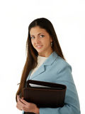 Woman in business suit Stock Images