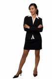 Woman in business suit Royalty Free Stock Photography