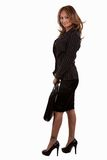 Woman in business suit Royalty Free Stock Photos