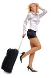 Woman and business travel Royalty Free Stock Photography