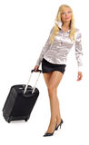 Woman and business travel Royalty Free Stock Images
