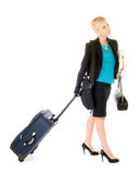 Woman business travel Royalty Free Stock Photos