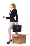 Woman businesswoman royalty free stock photos