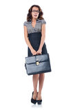 Woman businesswoman. In business concept Stock Images
