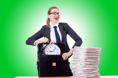 Woman businesswoman Royalty Free Stock Image