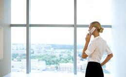 Woman calling Royalty Free Stock Photo
