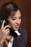 Woman calling Stock Image