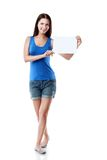 Woman card Royalty Free Stock Image