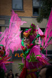 A Woman Carnival Notting Hill London Royalty Free Stock Photography