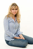 Woman in casual attire Stock Photography