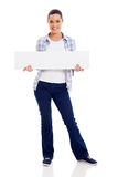 Woman casual banner Stock Photos
