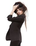 Woman in casual clothes Stock Image