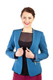 Woman in casual modern style Stock Photo