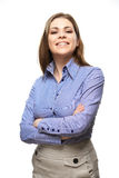 Woman casual style portrait Royalty Free Stock Photo