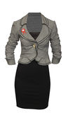 Woman casual suit Royalty Free Stock Photos