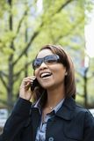 Woman on cellphone Stock Photos