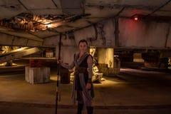 Woman character in Star Wars Galaxys Edge at Hollywood Studios 2