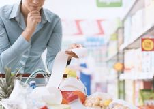 Expensive grocery Stock Image