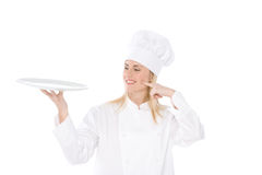 Woman Chef Stock Images