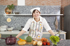 Woman Chef Royalty Free Stock Photo