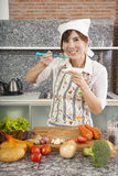 Woman Chef Royalty Free Stock Photography
