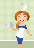 Woman chef Royalty Free Stock Images